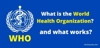 What is the World Health Organization