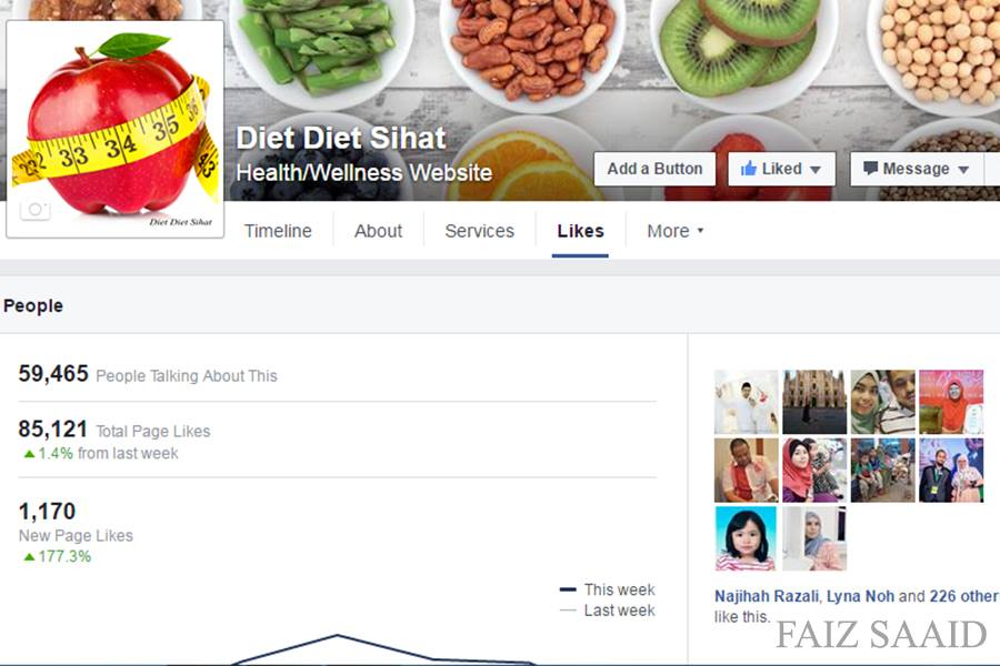 like facebook page 2016