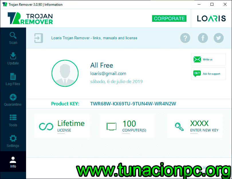 Descargar Loaris Trojan Remover Gratis