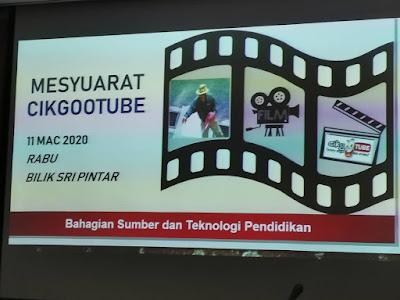 #cikgooTUBE inisiatif Guru Bantu Murid Demi Covid19