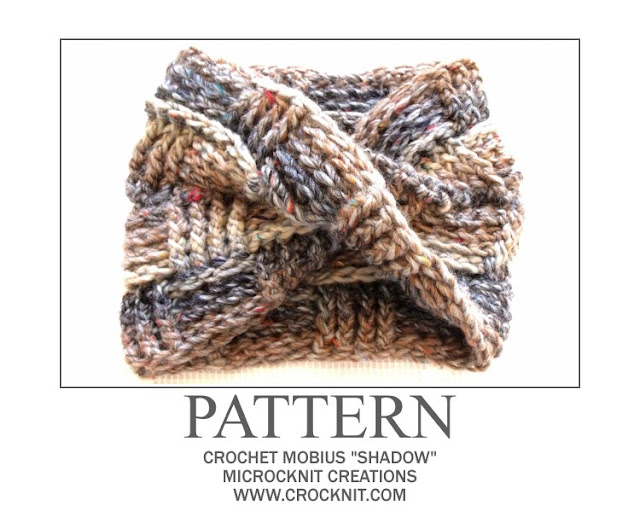 crochet patterns, how to crochet, mobius, scarf, men