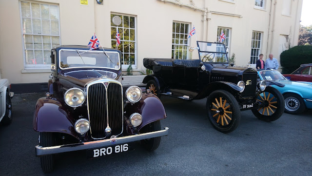 Classic cars at Townhill Park House and Gardens