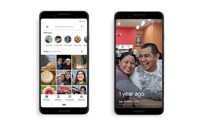 جوجل تنسخ ميزة الذكريات من فيسبوك