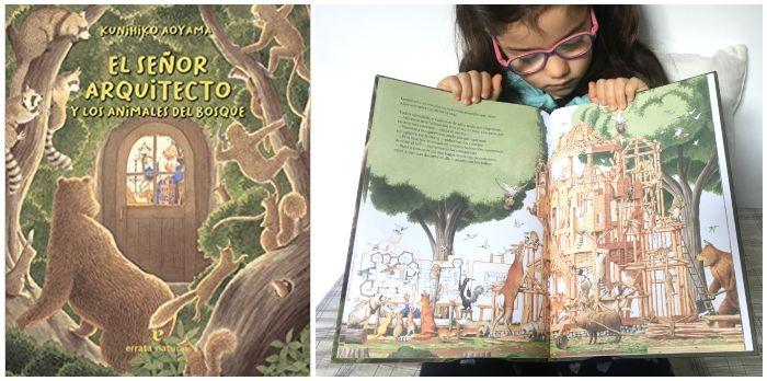 cuento infantil 5 a 8 años regalar Navidades El señor arquitecto y los animales