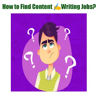 How to find Content Writing Jobs