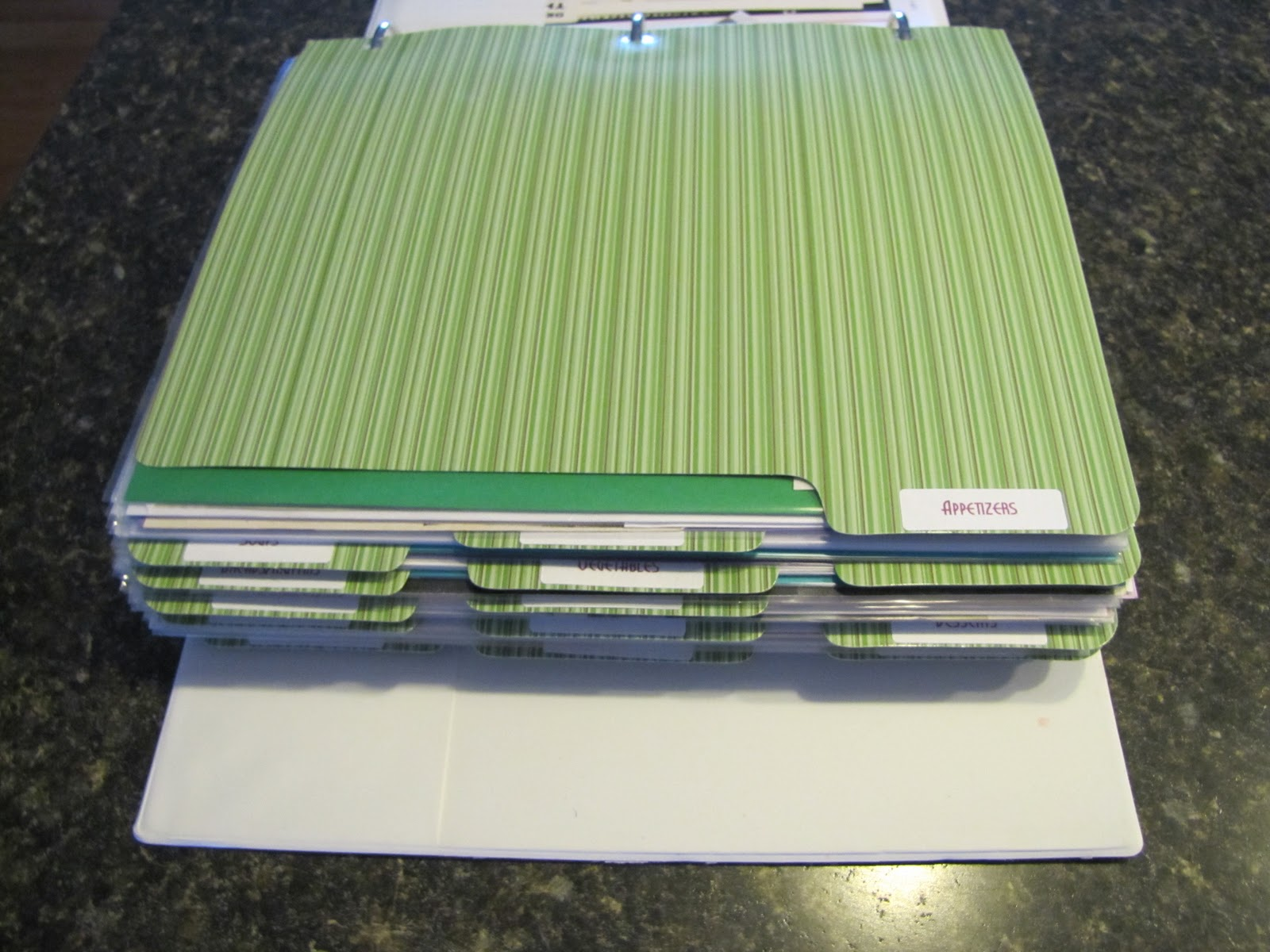 Ring Binder Scrapbook Pages