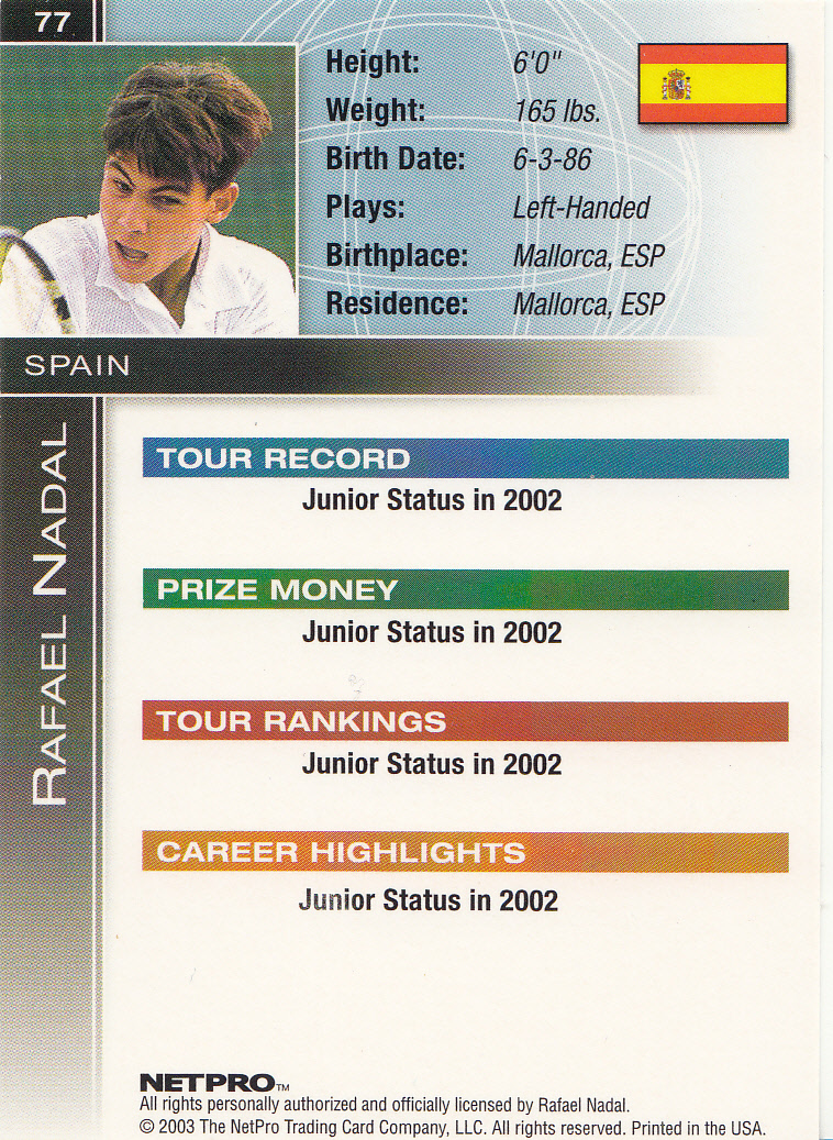 Can T Have Too Many Cards Rafael Nadal Makes Tennis History At The French Open