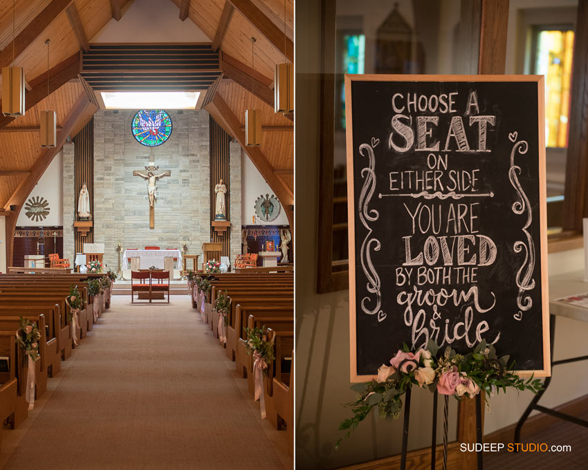 Wedding Church Decorations SudeepStudio.com Ann Arbor Wedding Photographer