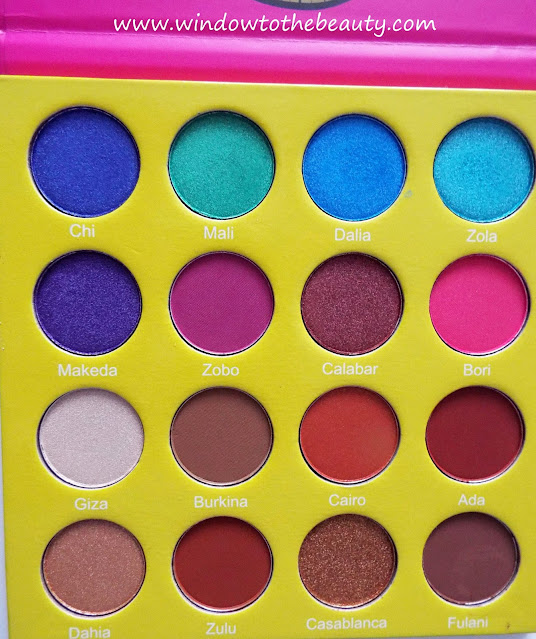 Juvia's  Place Masquerade Palette Swatches & Review