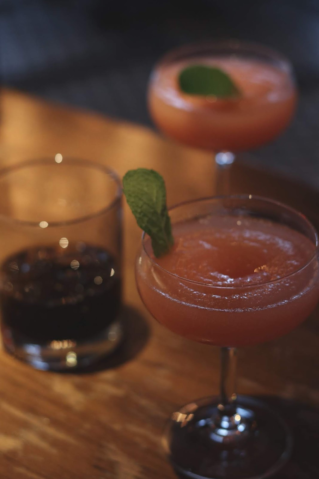 festive drinks