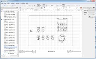Screenshot 3 Qelectrotech Software Mengambar rangkaian listrik