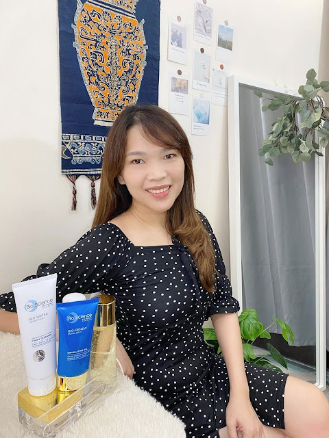 Skin Safe Christmas Routine with BioScience