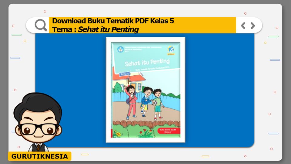 download gratis buku tematik pdf kelas 5 tema sehat itu penting