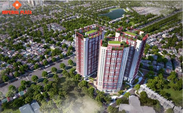 Ra mắt chính thức chung cư Imperial Plaza
