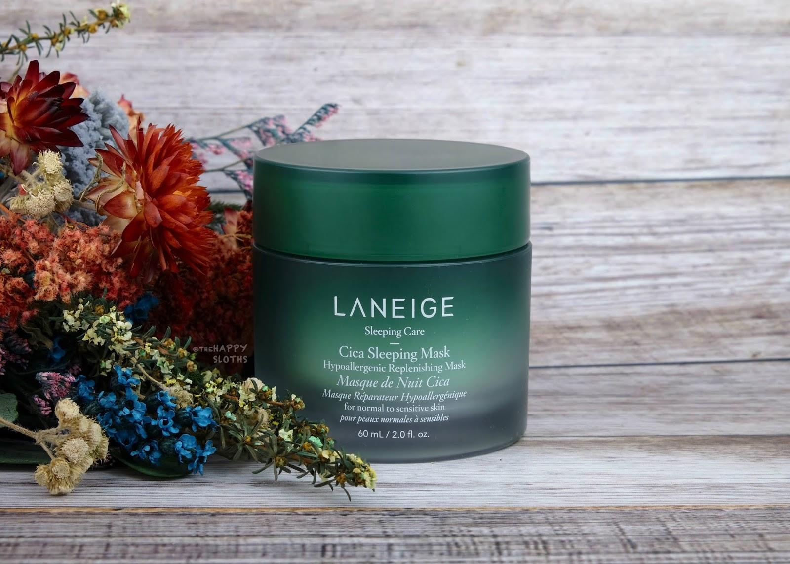 Laneige | Hypoallergenic Cica Sleeping Mask: Review