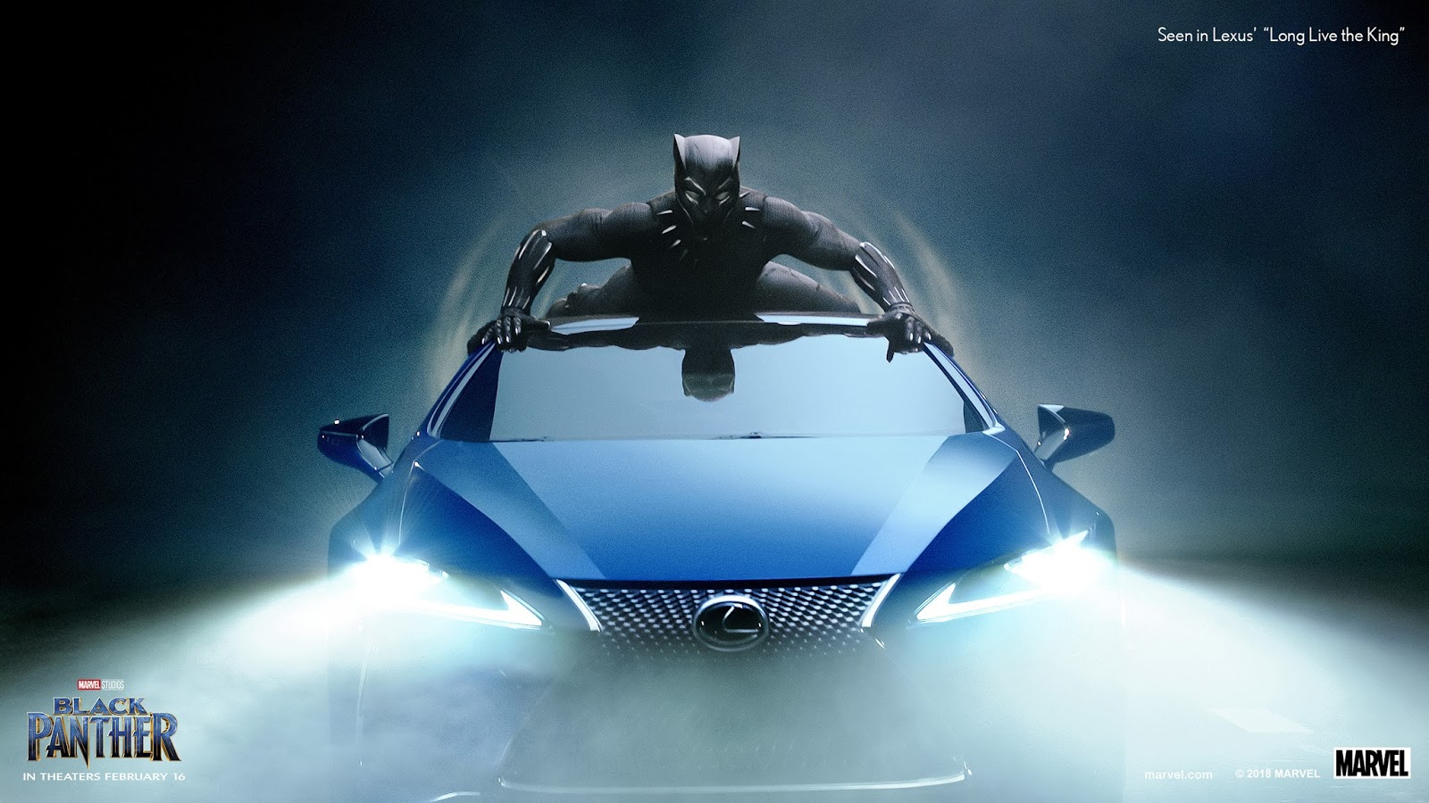 Lexus Uses Marvelu0027s Black Panther For Extended Super Bowl Spot
