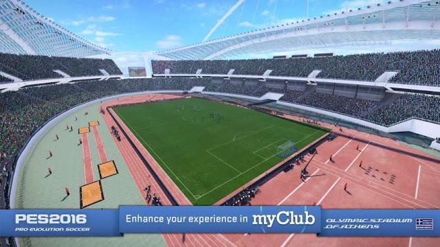 PES 2016 Olympic Stadium of Athens
