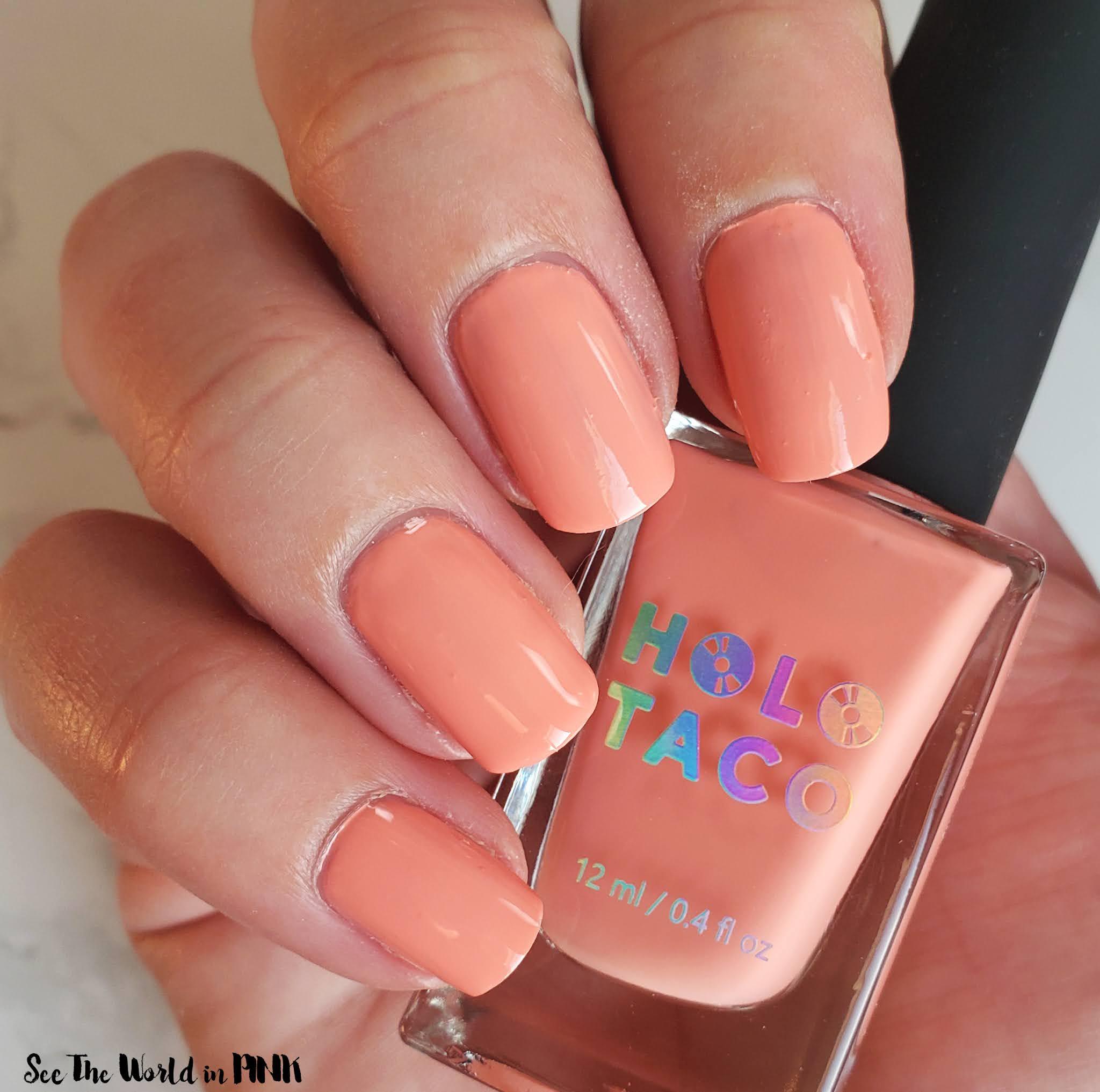 Manicure Monday - Holo Taco Life's A Beach Bundle Swatches