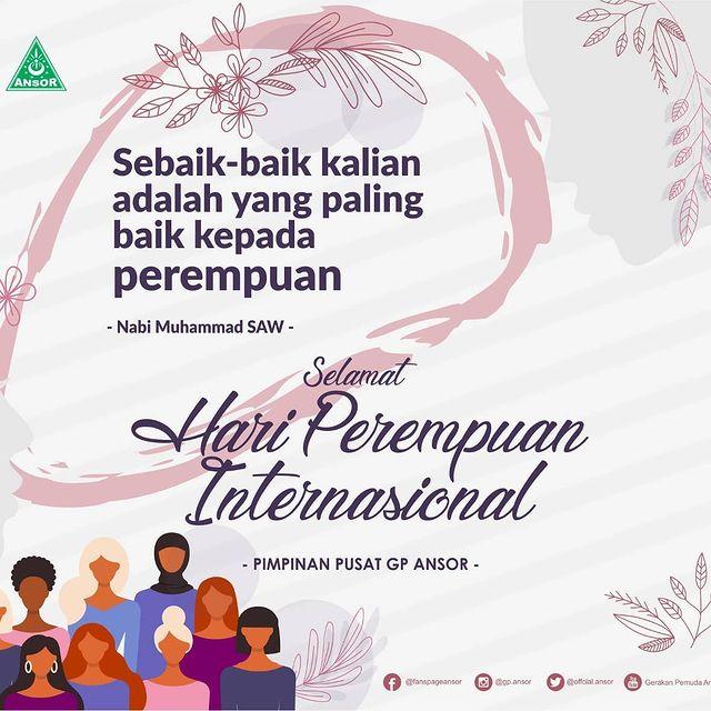 Ucapan Selamat Hari Perempuan Internasional