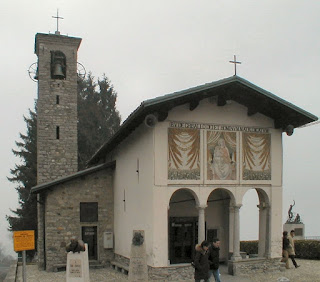 The Church of Madonna del Ghisallo at Mareglio