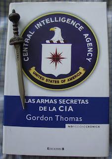 Portada del libro Las armas secretas de la CIA, de Gordon Thomas
