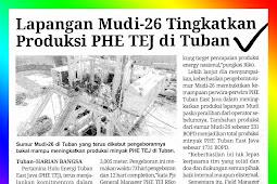 Mudi-26 Field Increases PHE TEJ Production in Tuban