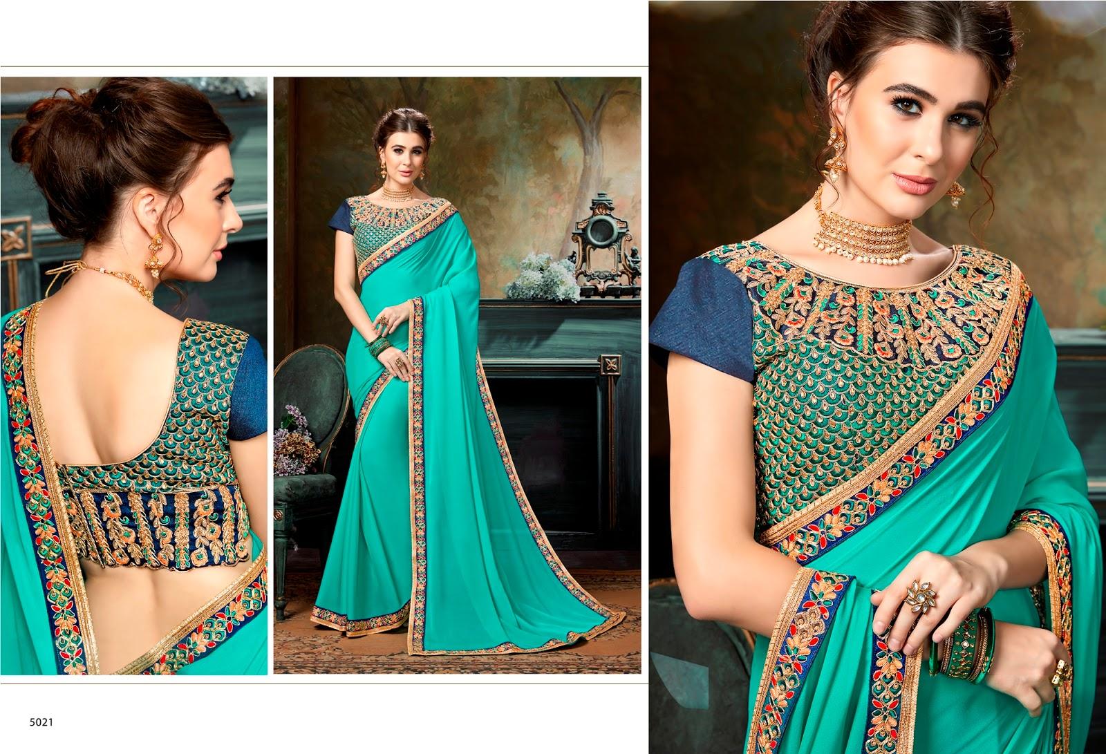 Radhika -New Arrival Designer Heavy Shahi Chiffon Saree