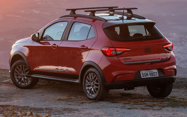 Novo Fiat Argo 2020