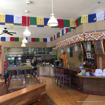 interior of Westside Organic Cafe in Berkeley, California