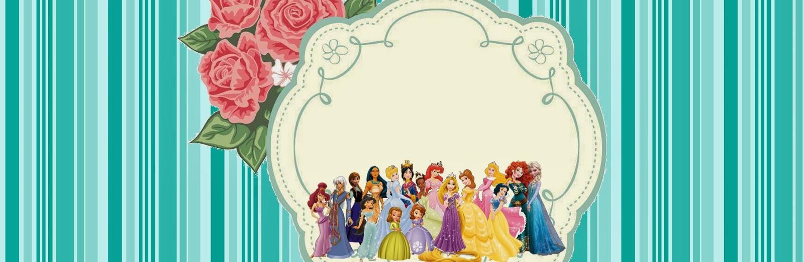 Imprimibles gratis de Princesas Disney.