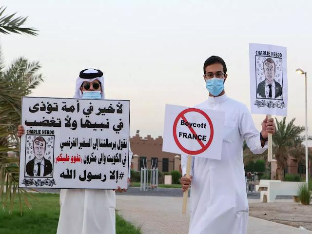 Babak Baru Macron Versus Islam, Negara Arab Kompak Mengutuk