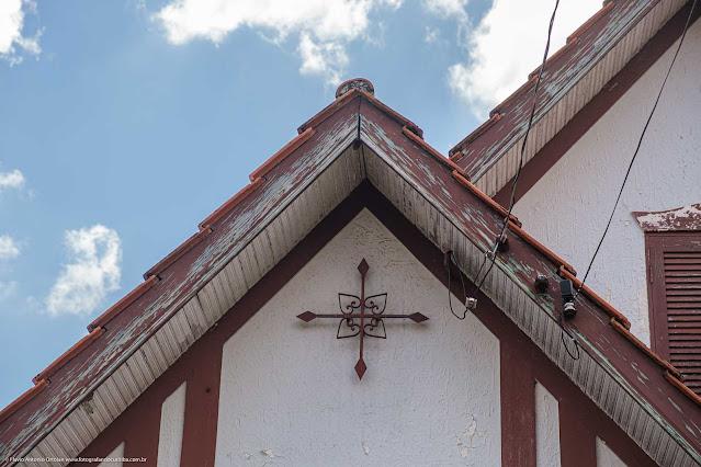 Casa na Rua David Carneiro - detalhe de ornamento de ferro