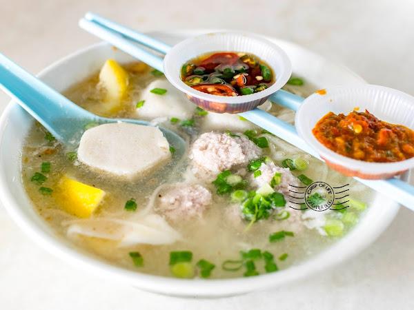 Heng Kee Lemon Koay Teow Soup @ Kafe Kam 88, Bayan Baru, Bayan Lepas, Penang