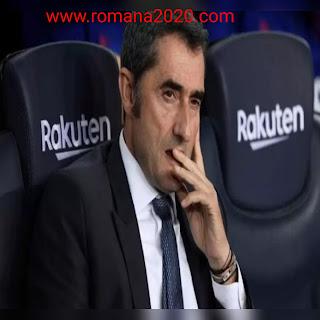 رسميا نادي برشلونة الاسباني يقيل المدرب فالفيردي ويعين كيكي سيتيين اخبار برشلونة