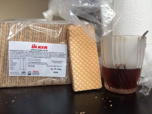 Ülker Shop Açık Gofret 1 adet kaç kalori kaç gram kaç protein