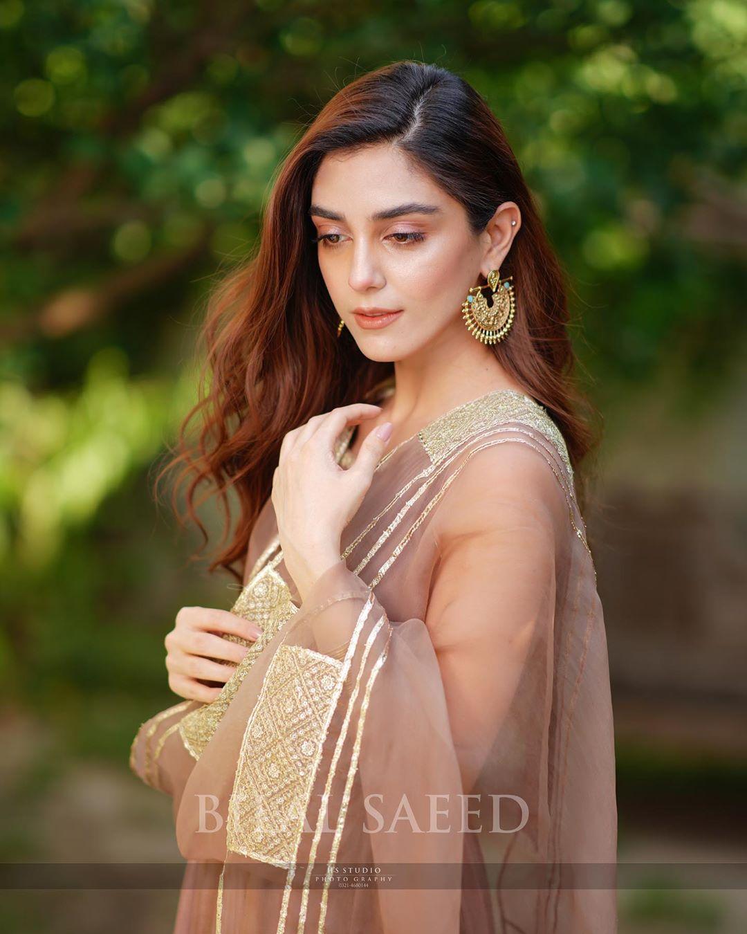 Maya Ali Looking Gorgeous in White Dress