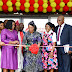 FIRST LADY OF LAGOS STATE, DR. (MRS) IBIJOKE SANWO-OLU AT THE COMMISSIONING OF MOTHER AND CHILD HOSPITAL, OMOLE, LAGOS