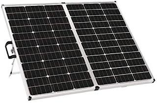 40-Watt Portable Solar Panel Kit