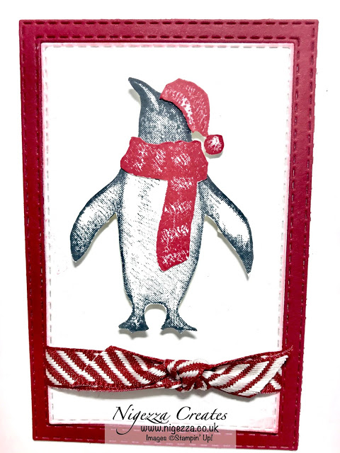 Playful Penguins Stampin Up