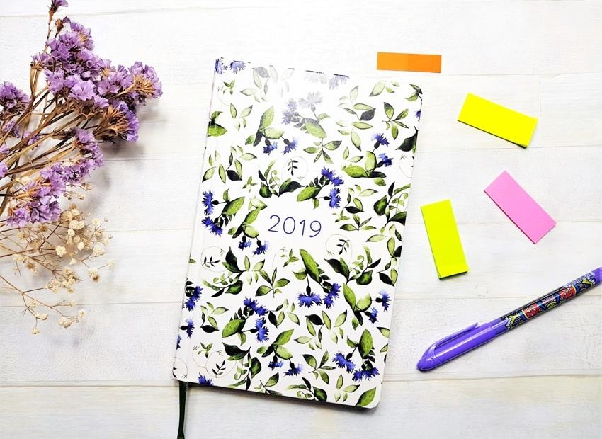 Kalendarz książkowy - Zielnik 2019 Wydawnictwo Zielona Sowa
