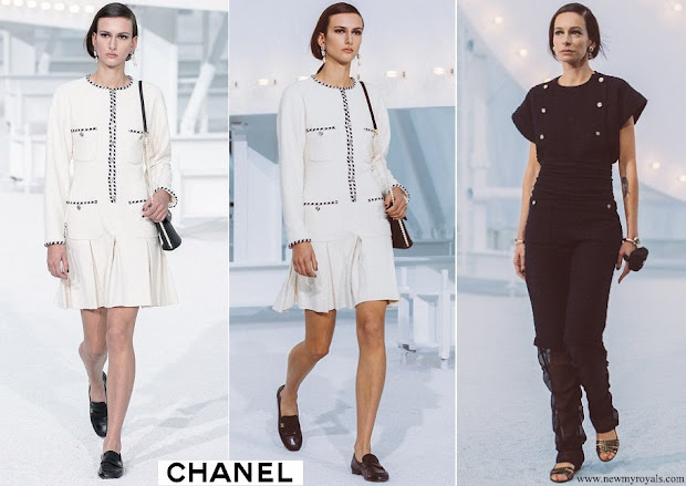 Charlotte Casiraghi in Chanel Spring Summer 2021 Collection