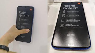 Redmi note 8T Live image