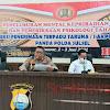 Kabid Propam Katim PMK Arahan Didepan Catar (i) Akpol Penerimaan Terpadu Anggota Polri TA 2021