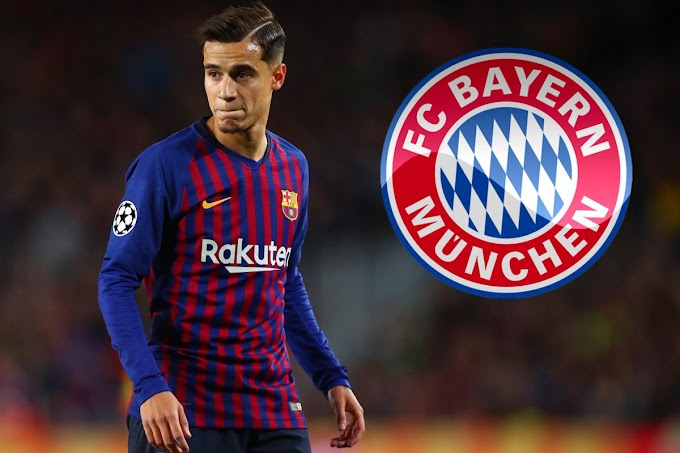 Philippe Coutinho agrees to join Bayern Munich on loan from Barcelon