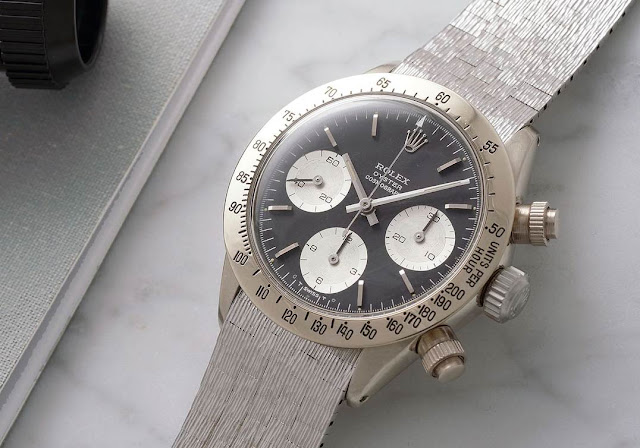 "Rolex Daytona 6265 ""The Unicorn"" on sale at the Daytona Ultimatum Geneva watch auction"