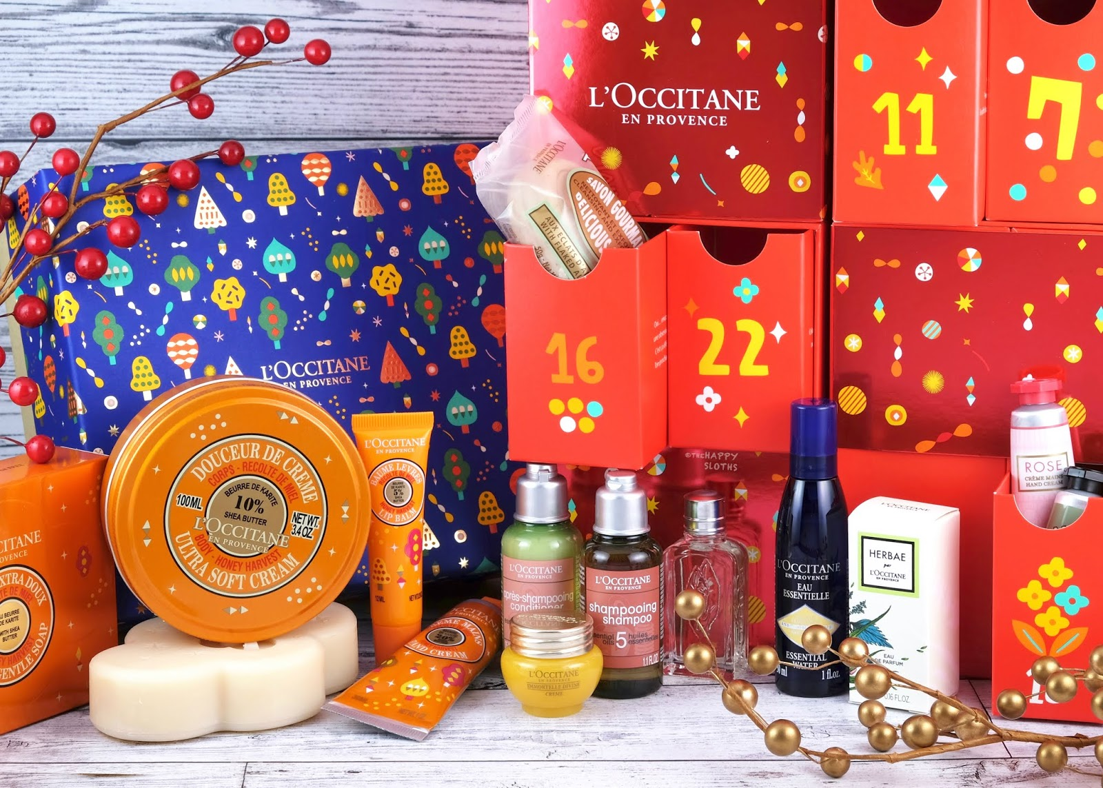 L'Occitane | Holiday 2019 Shea Honey Harvest Collection & Luxury Advent Calendar: Overview + GIVEAWAY