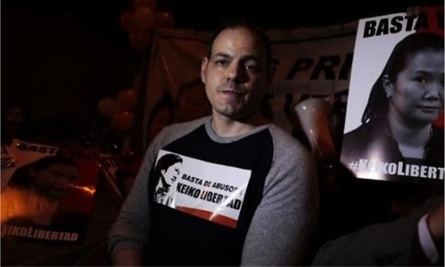 Mark Vito: esposo de Keiko Fujimori se declara en huelga de hambre