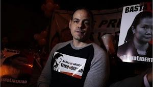 Mark Vito, esposo de Keiko Fujimori, protesta con huelga de hambre