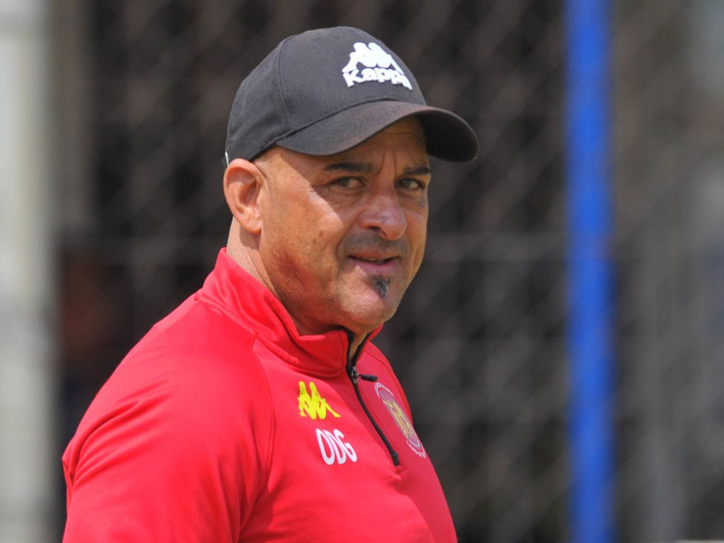 Highlands Park coach Owen Da Gama