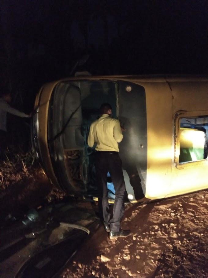 São José dos Basílios: acidente com ônibus escolar......